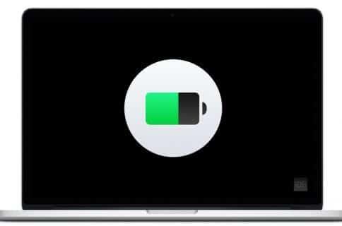 Macbook  nyt batteri